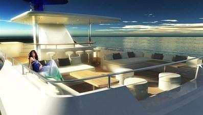 Inace Yachts 126' Aft House Explorer Yacht 3 Flybridge