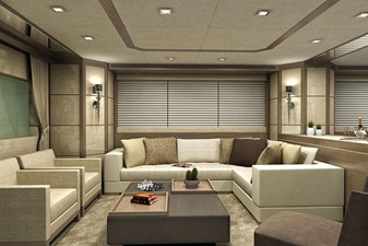 Inace Yachts 126' Aft House Explorer Yacht 4 Main Salon