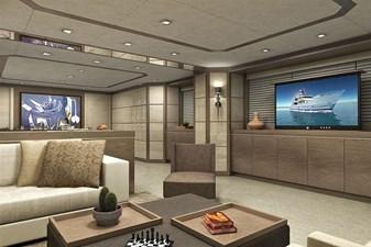 Inace Yachts 126' Aft House Explorer Yacht 5 Main Salon