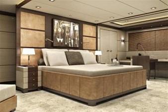 Inace Yachts 126' Aft House Explorer Yacht 11 Master Stateroom