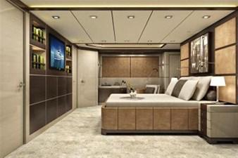 Inace Yachts 126' Aft House Explorer Yacht 13 Master Stateroom