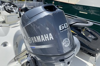 13' Dinghy w/60hp Outboard