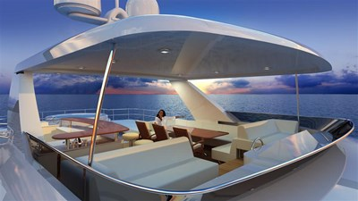 All Ocean Yachts 90' Steel 15 Flybridge