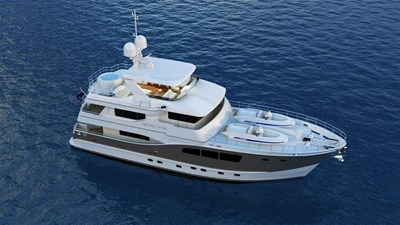 All Ocean Yachts 90' Steel 17 Top Front