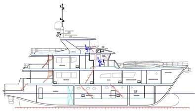 All Ocean Yachts 100' Fiberglass 2 All Ocean Yachts 100' Fiberglass 2023 ALL OCEAN YACHTS Tri- Deck Explorer Yacht Motor Yacht Yacht MLS #97142 2