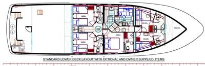 All Ocean Yachts 100' Fiberglass 6 All Ocean Yachts 100' Fiberglass 2023 ALL OCEAN YACHTS Tri- Deck Explorer Yacht Motor Yacht Yacht MLS #97142 6