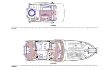 All Ocean Yachts 100' Fiberglass 13 Updated Flybridge/Wheelhouse