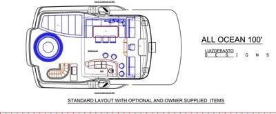 All Ocean Yachts 100' Steel 3 All Ocean Yachts 100' Steel 2023 ALL OCEAN YACHTS  Motor Yacht Yacht MLS #97832 3