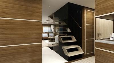 All Ocean Yachts 100' Steel 22 Stairs