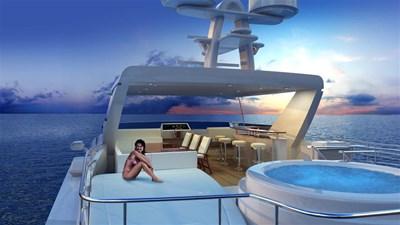 All Ocean Yachts 90' Fiberglass 14 Flybridge