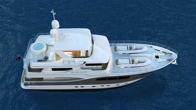 All Ocean Yachts 90' Fiberglass 18 Top side