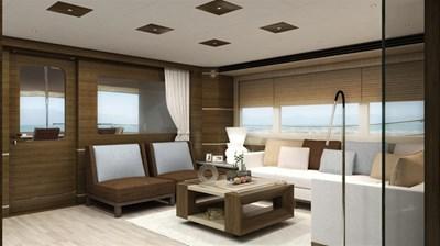 All Ocean Yachts 90' Fiberglass 25 Salon