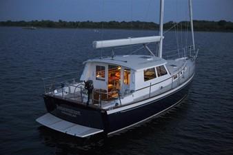50' Bruckmann MK II Cruising Sailboat - NEW BUILD 5 Stern