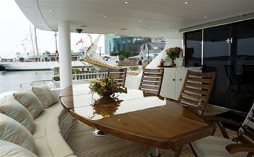 SEA LEGEND 1 Aft Deck Seating