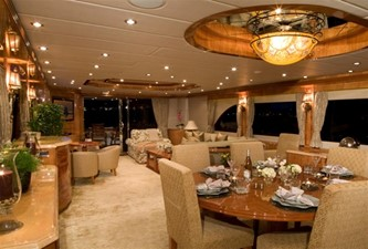 SEA LEGEND 4 Dining Area and Salon