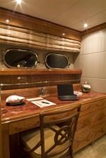 SEA LEGEND 18 Master Stateroom custom desk